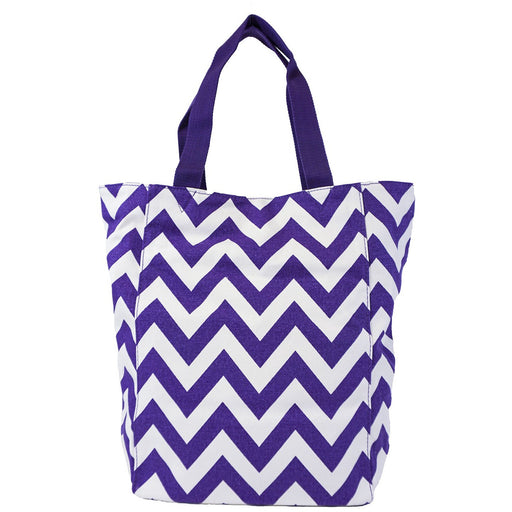 Chevron Large Canvas Tote Bags - Dallaswholesalers.net
