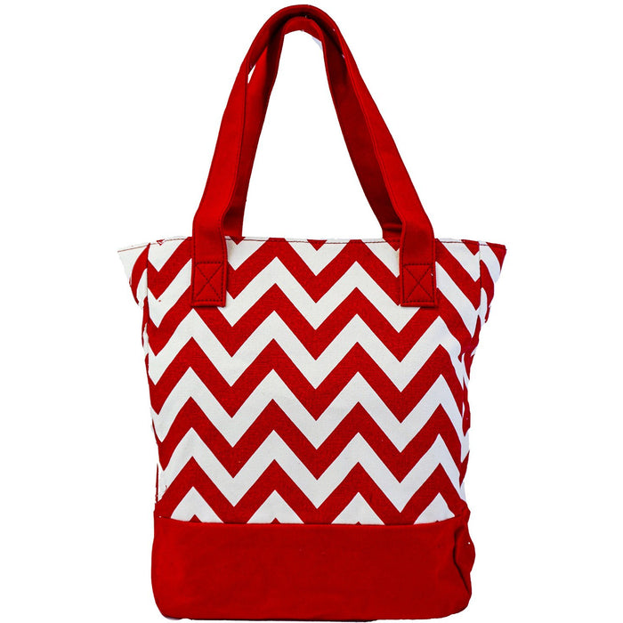 Canvas Tote Handbags Chevron