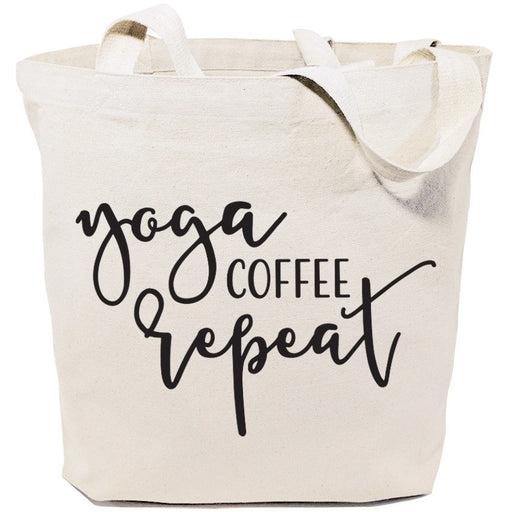 Yoga ... Canvas Tote Bags Made In USA