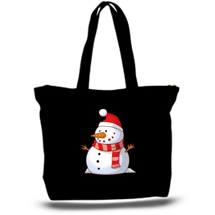Snowman Tote Bags