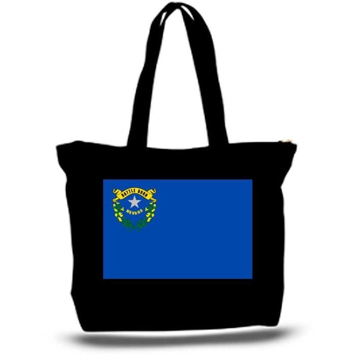 State of Nevada Flag Tote Bag