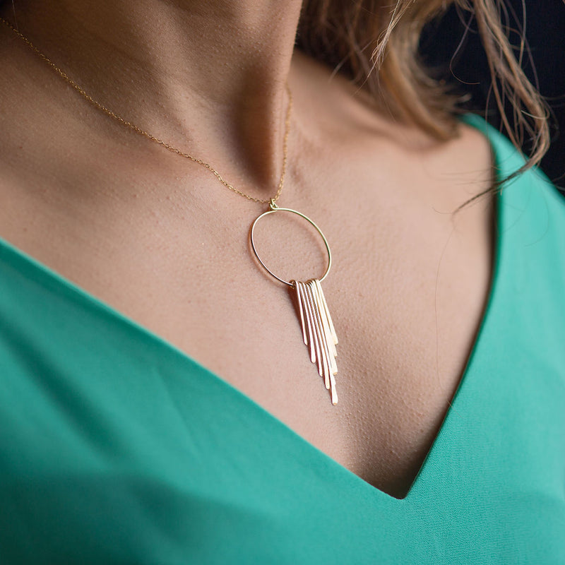 Lolly Fringe Necklace