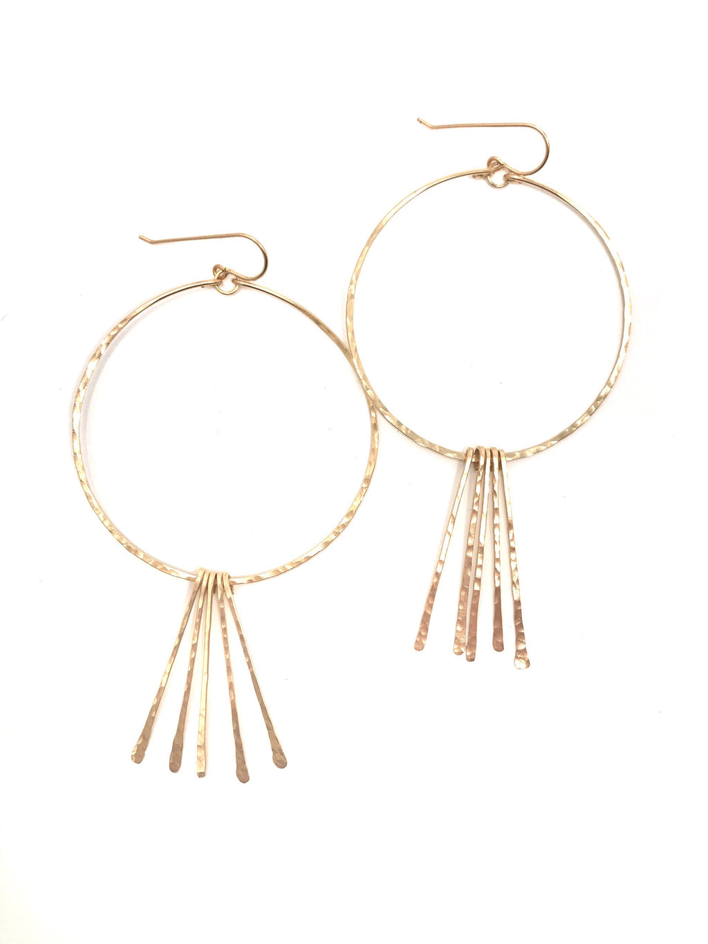 Lolly Fringe Hoops