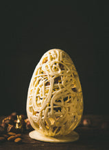 Load image into Gallery viewer, SAGRADO LACY EGG 500g (White chocolate, Dark Chocolate)