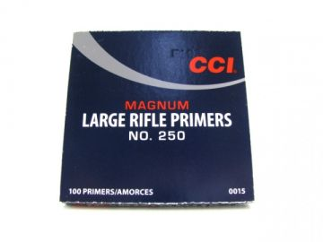 CCI Large Rifle Magnum hvelletta