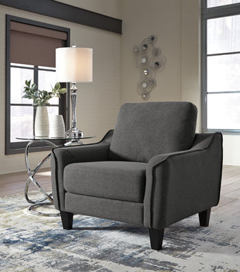 Ashley 115 Jarreau Chair - Dark Gray