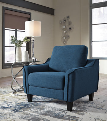 Ashley 115 Jarreau Chair - Blue