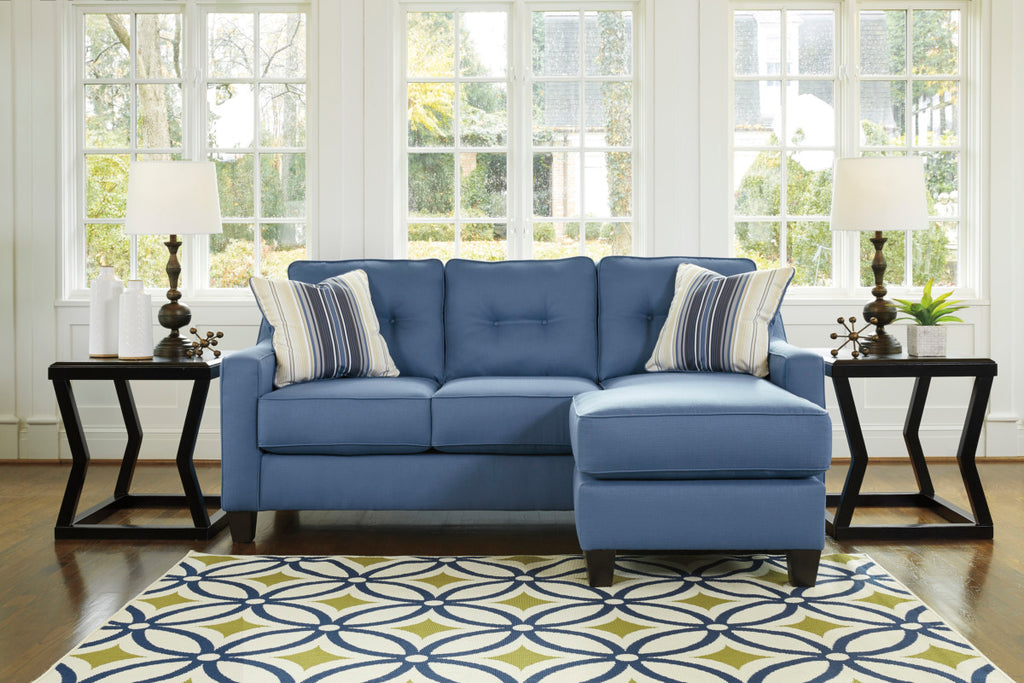 Fine Ashley 687 Aldie Nuvella Queen Sofa Sleeper With Chaise Home Interior And Landscaping Ologienasavecom