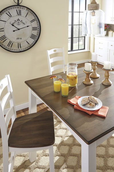Woodanville D335 Table W/ 6 Chairs