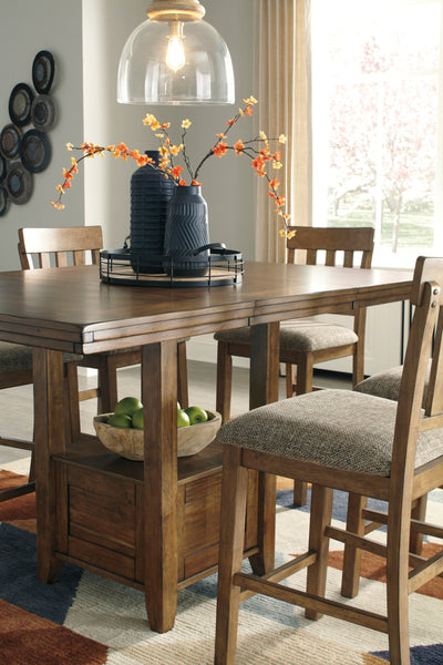Ashley D595 Flaybern Counter Top Dining Set