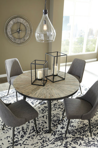 Ashley D605 Coverty Round Dining Room Table