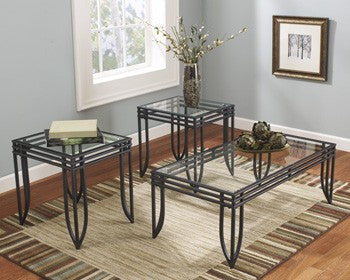 Ashley T113 Exeter Occasional Table Set