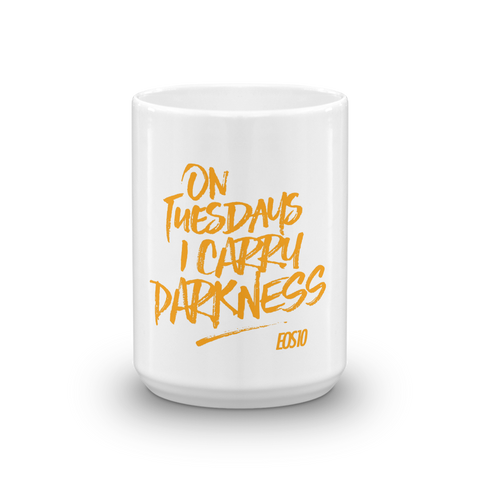 I Carry Darkness Mug