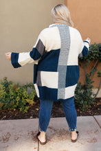 Load image into Gallery viewer, Chunky Patterns Cardigan in Teal