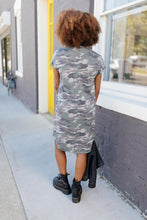 Load image into Gallery viewer, Hiding Out Camouflage Dress