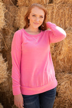 Load image into Gallery viewer, Sadie's Simple Sweater in Pink - Shopbrandnewyou