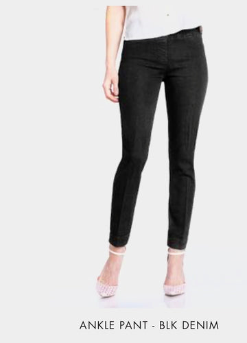 SlimSation Black Denim Pants
