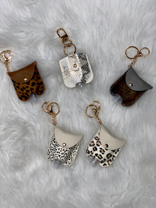 Sanitizer Holder Keychains
