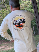 Load image into Gallery viewer, The Riva Is Calling And I Must Go Long Sleeve Tshirt