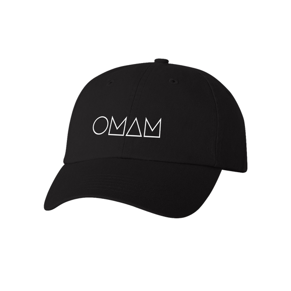 LOGO EMBROIDERED BLACK CAP