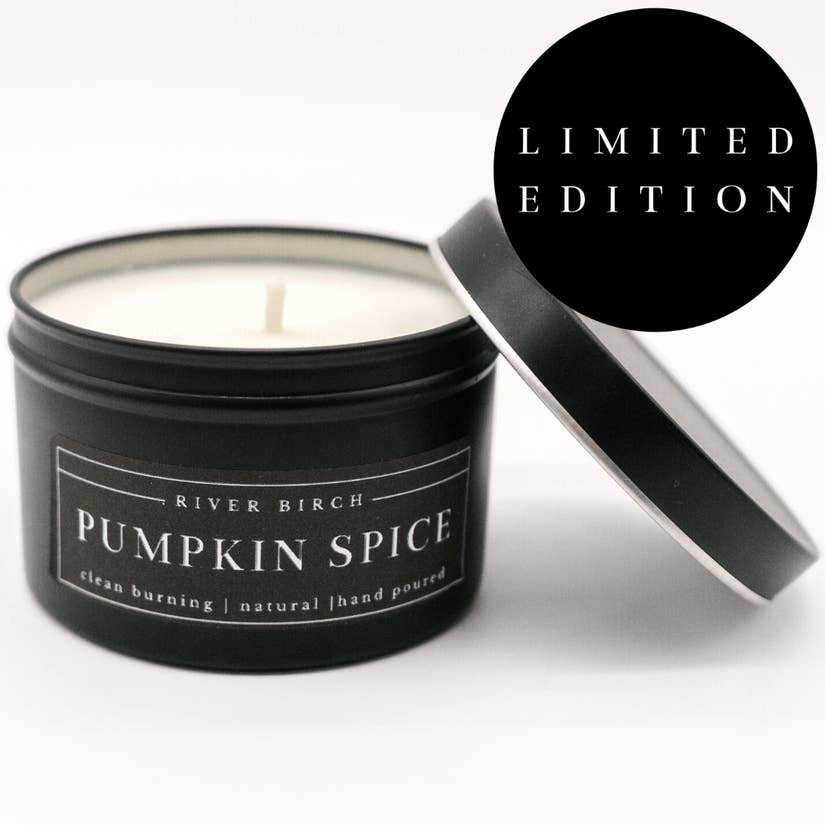 Candle, Soy, Pumpkin Spice, 8 oz