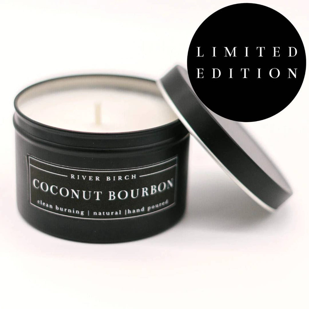 Candle, Soy, Coconut Bourbon, 8 oz