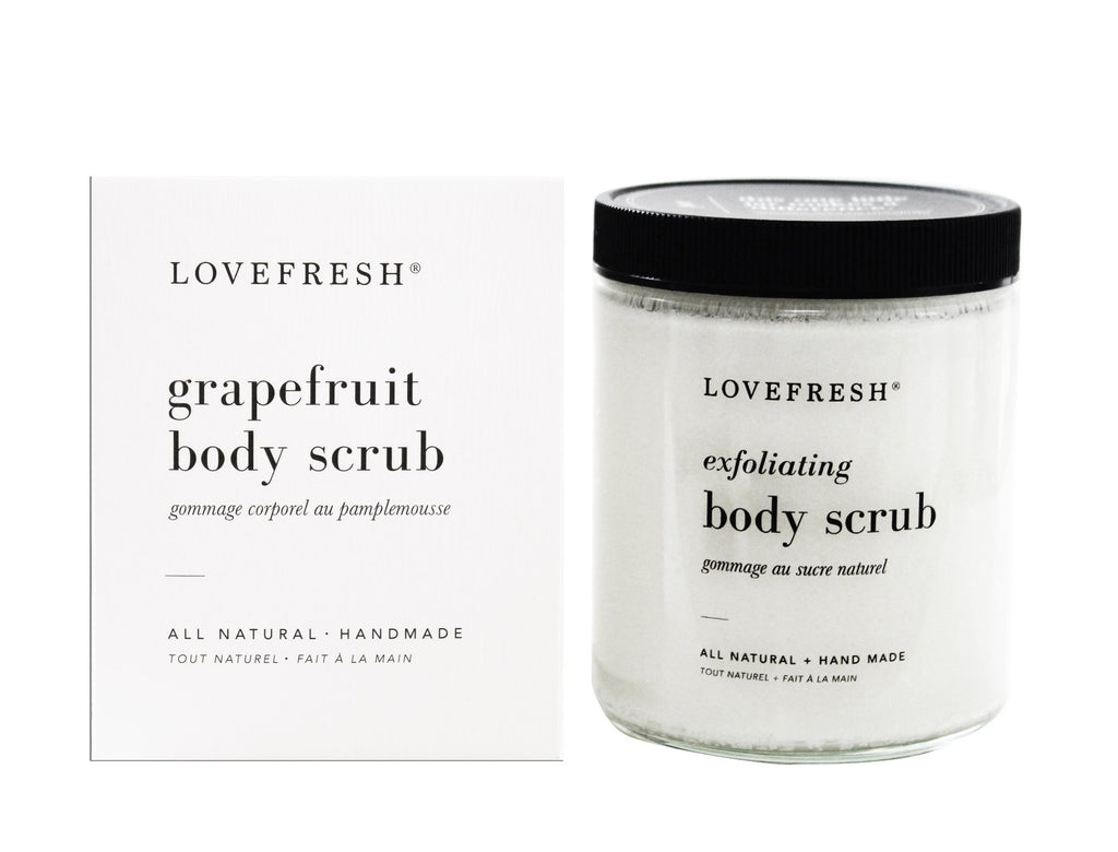 Body Scrub, Grapefruit
