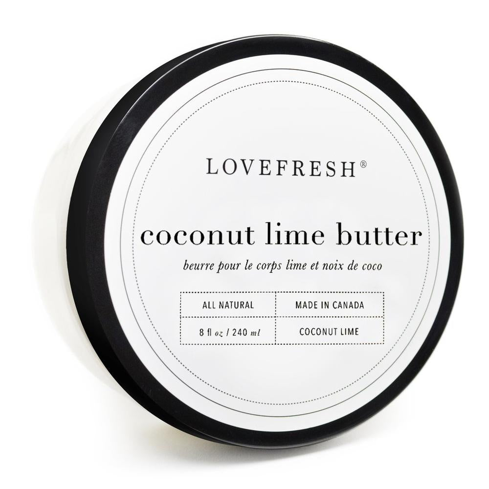 Body Butter, Coconut Lime
