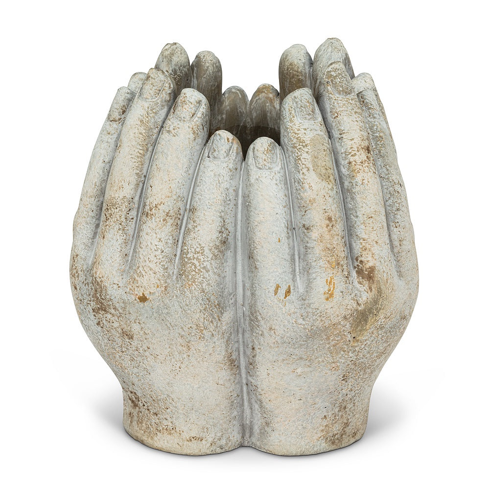 Tall Hands Planter, Small