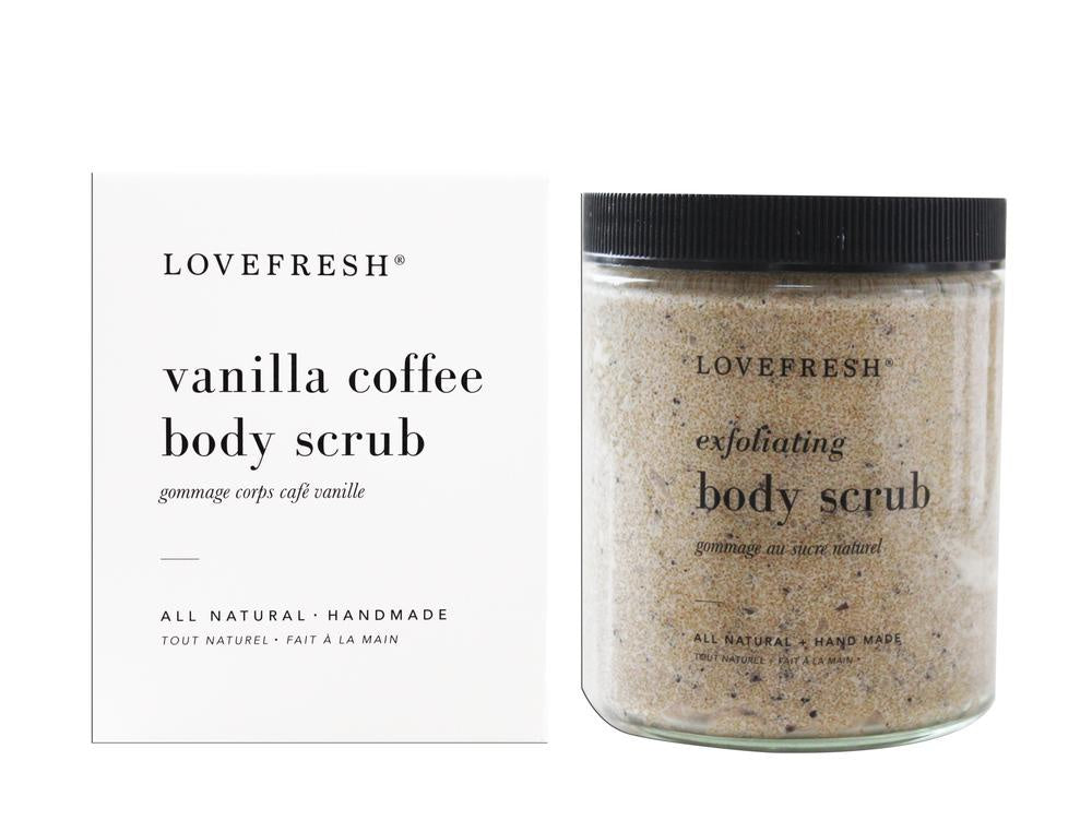 Body Scrub, Vanilla Coffee