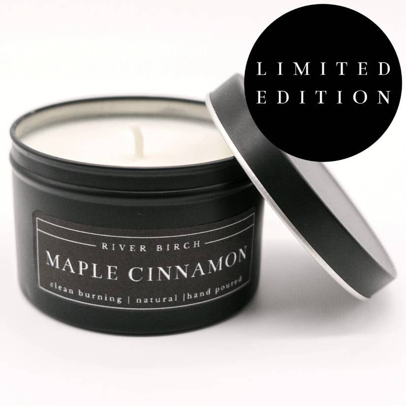 Candle, Soy, Maple Cinnamon, 8 oz