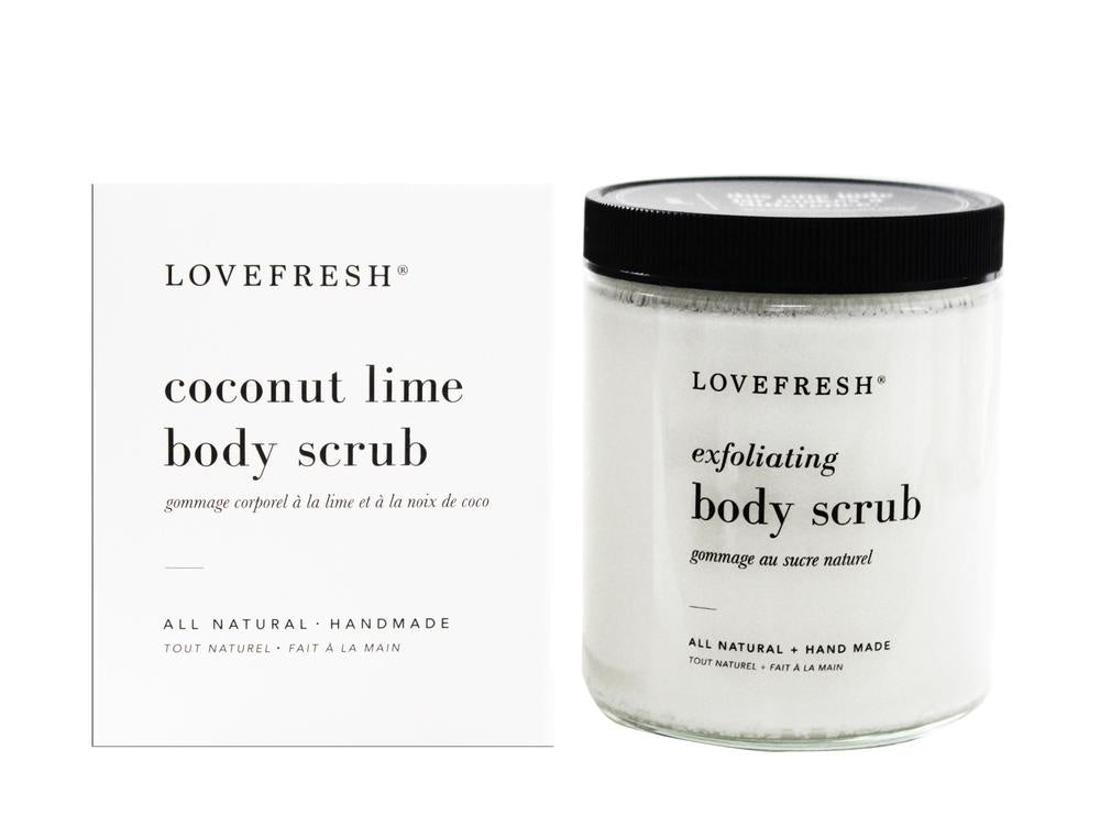 Body Scrub, Coconut Lime