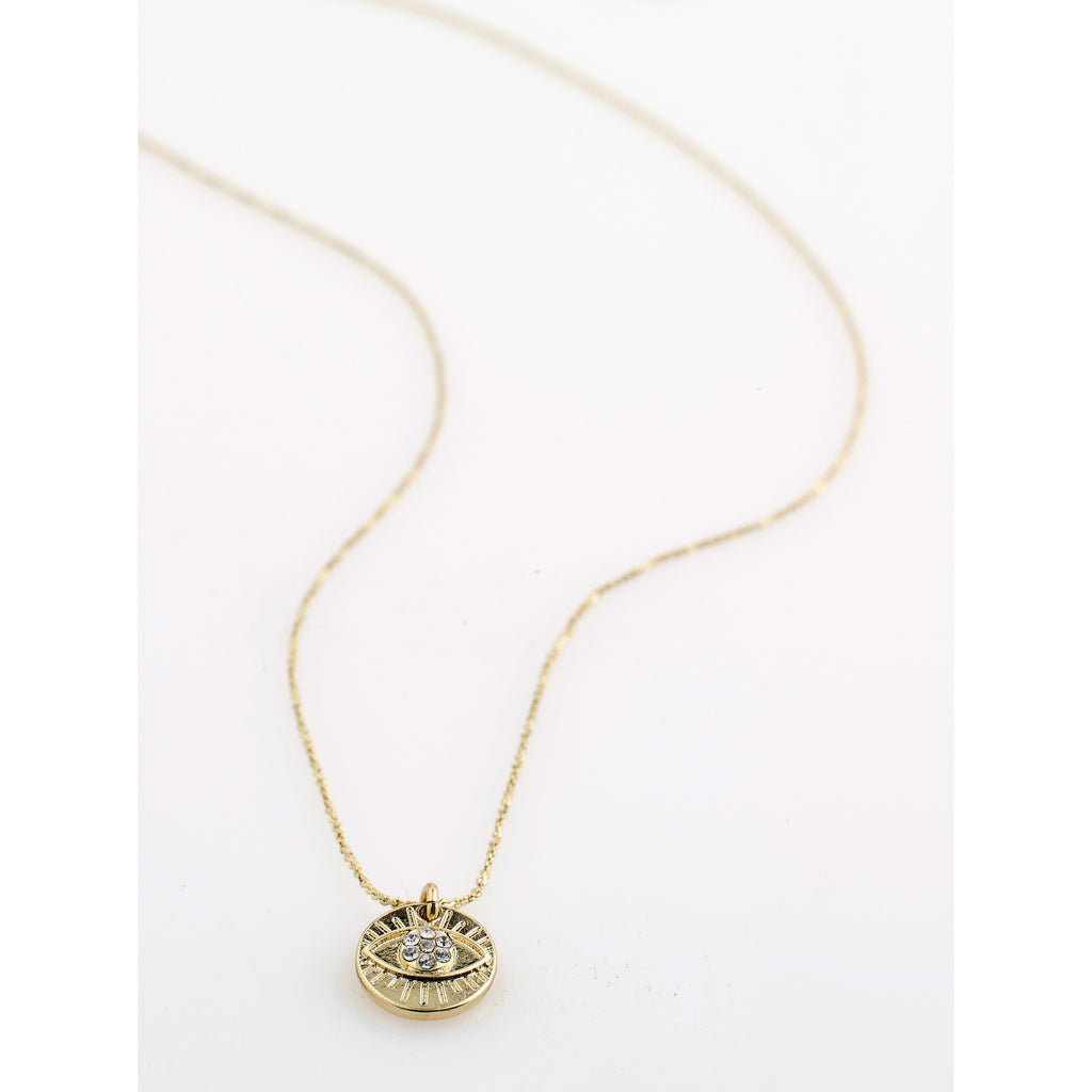Cherished Necklace, Gold
