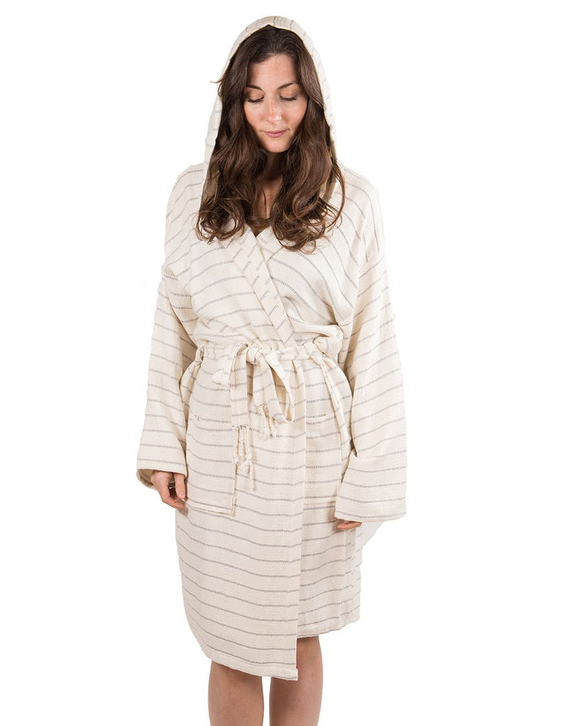 Turkish Cotton Robe, Bamboo Mist, 2 sizes