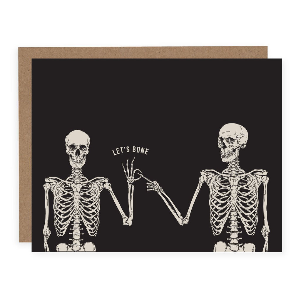 Let's Bone, Card