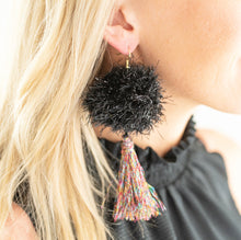 "Load image into Gallery viewer, Noelle 2"" Tinsel + Tassel"