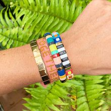 "Load image into Gallery viewer, ""COME TOGETHER"" TIE BRACELET"