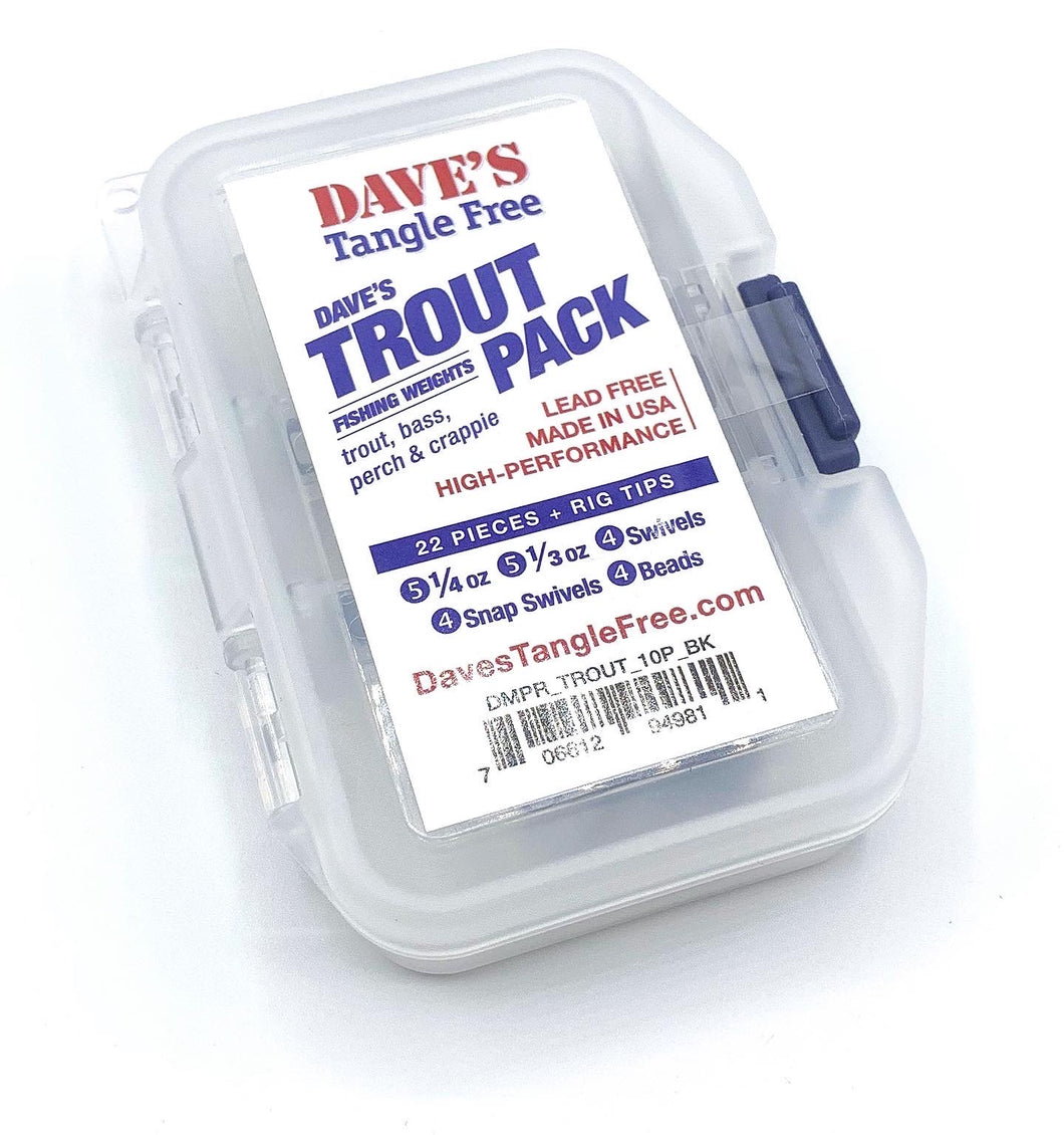 Dave's Tangle Free Trout Pack