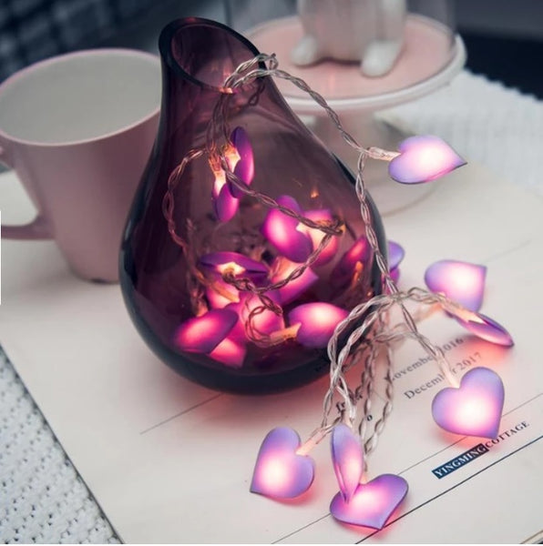 Love Heart LED String Light