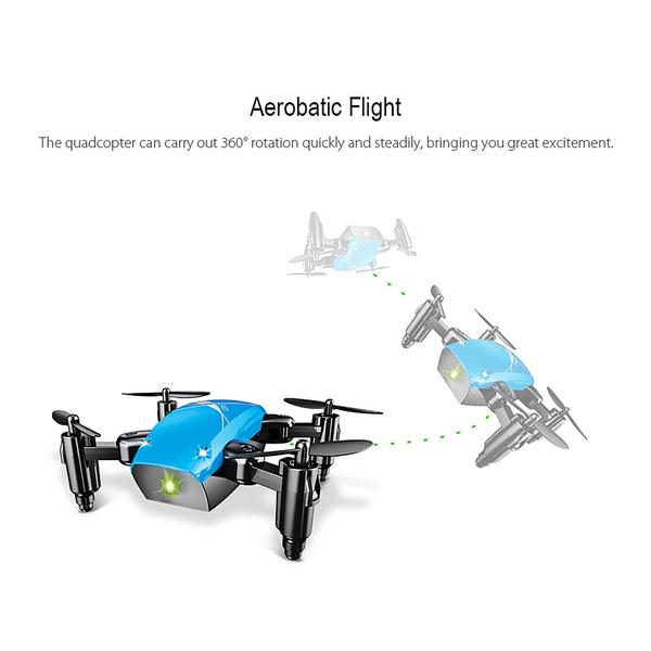 Remote Controlled Mini Quad-copter Drone HD Camera, WiFi