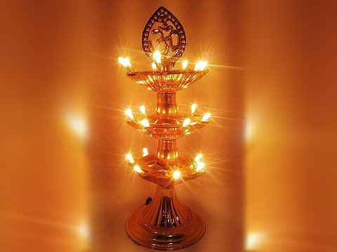 Electric Stand Diya