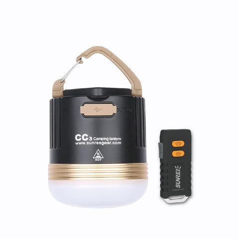 Waterproof SUNREI CC3 Rechargeable Camp Lamp Emergency Lamp