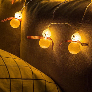 Snowman LED String Light-Decorative String Light-[variant_title]-Khadiza Electricals