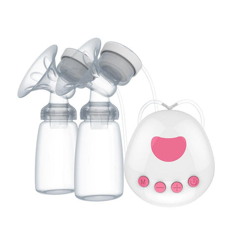 BPA Free Automatic Double Breast Pump for Mothers (1000Amh Rechargeable Battery)