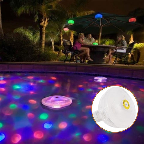 Floating Swimming Pool/Bathtub Waterproof LED Foundation Bulb