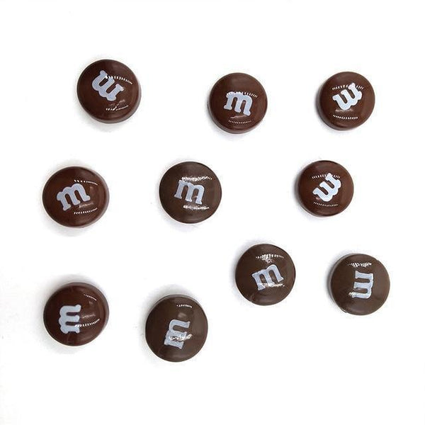 Resin Craft Fridge Magnets(10pcs)-Non Electric Home Decor-10pcs Coffee-Khadiza Electricals