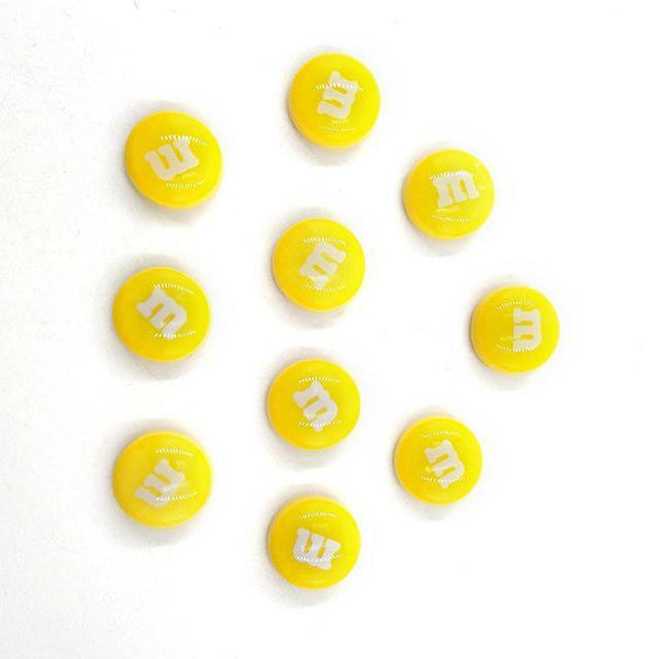 Resin Craft Fridge Magnets(10pcs)-Non Electric Home Decor-10pcs Yellow-Khadiza Electricals