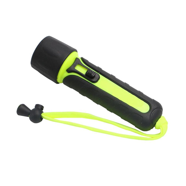 Waterproof LED Magnetron Switched Diving Flashlight (YH-6959 300LM AA)