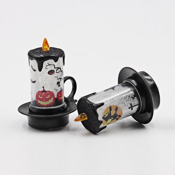 12 pcs/set Halloween Candle with LED Tea light