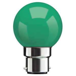 LED Round Night Lamp (pack of 100 Pcs)-[product_type]-B22 / India / Green-Khadiza Electricals